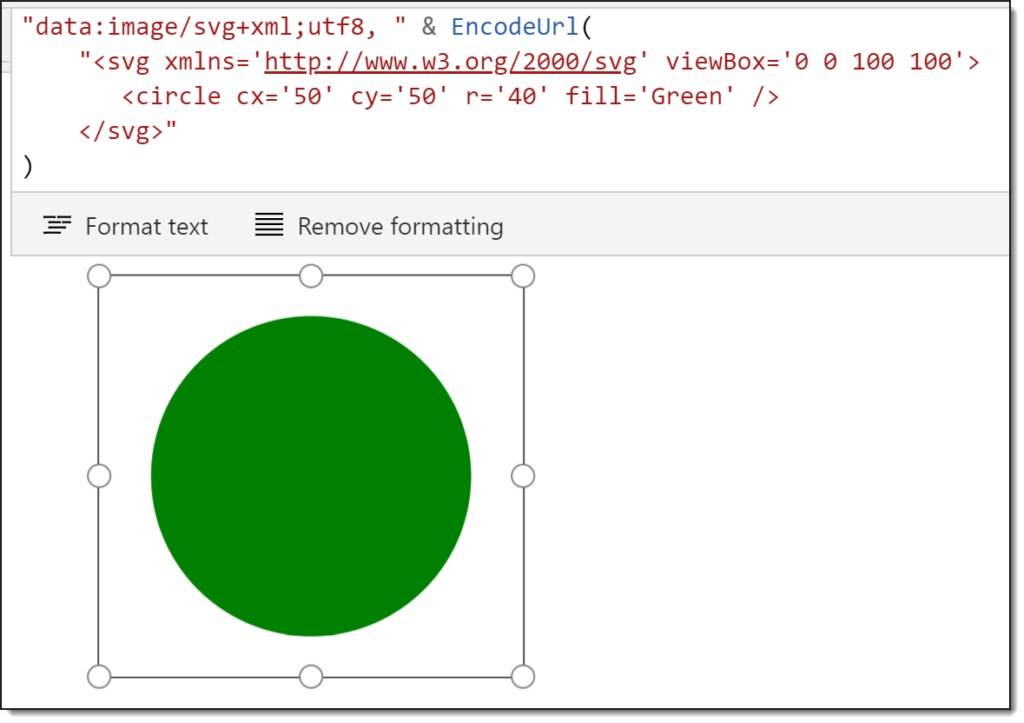 Simple circle SVG